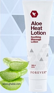 Aloe Heat Lotion 118 ml ref 64