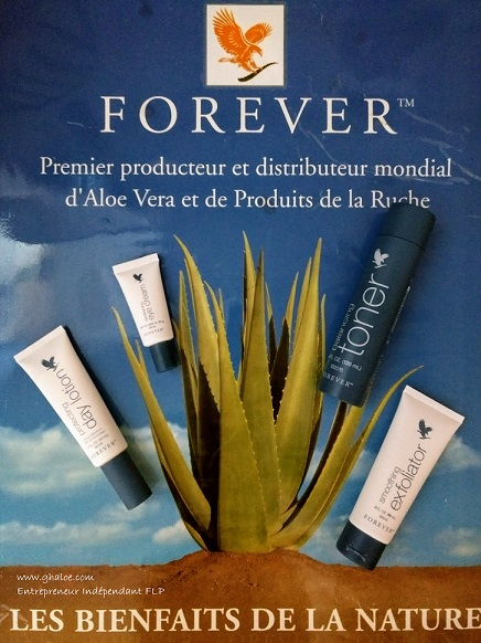 Forever toner exfoliator day lotion eye cream